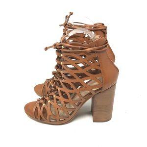 Aldo Cognac Sandals